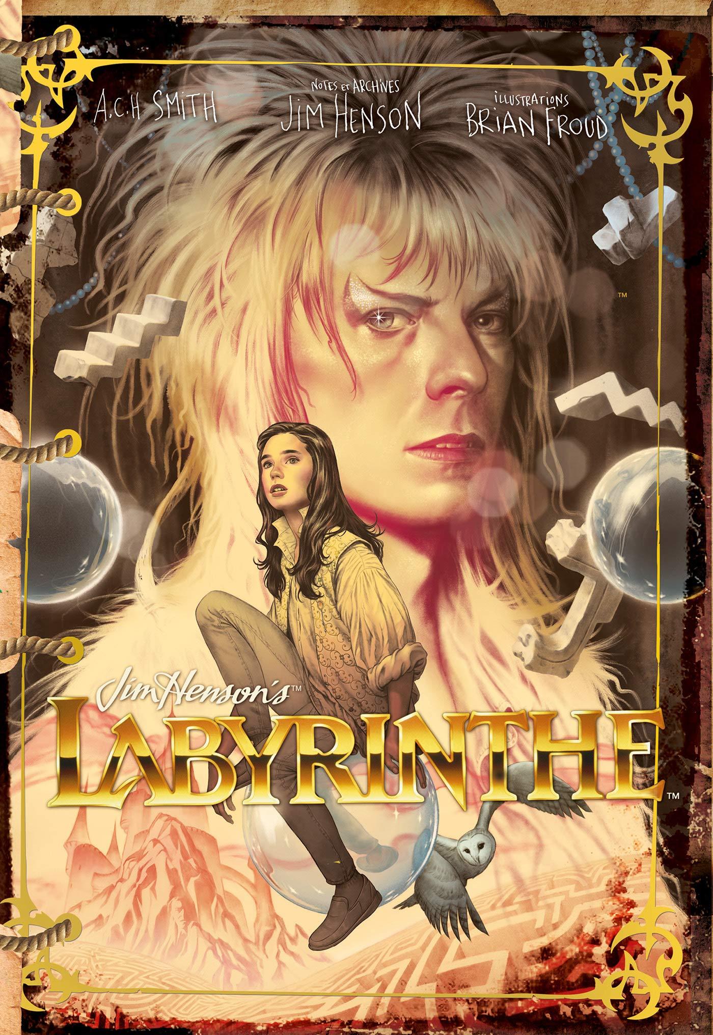 Labyrinthe novélisation